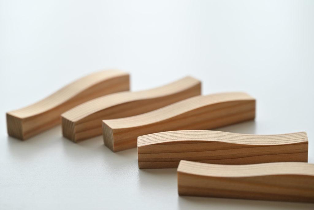 杉波箸置き 5セット image2